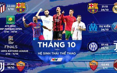 Lịch trực tiếp La Liga 2021/22 vòng 10 từ ngày 23-25/10